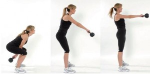 Squatting not Hinging + Arms disconnected = Very Poor Form,  but this is what most people learn.