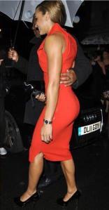 Jess Ennis, in a dress!
