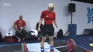 Julia Rohde, Olypic level weight lifter, 11th in the last Olympics. And still feminine.