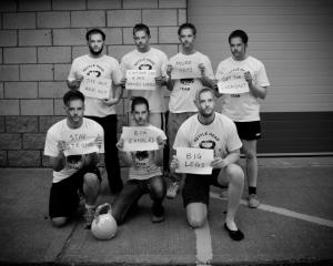 The Kettleheads GS Team pays tribute to their coach!