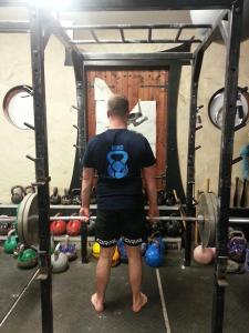 Lukas did 25% more reps wearing the T'shirt than last week with an ordinary shirt