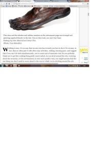 NY Times Barefoot