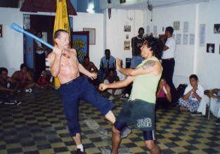 "Wild Geese Martial Arts Founder Paul Cox ""teaching"" Eskrima, in this case it's not Brian"