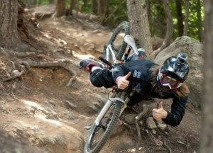 Crashing-Mountain-Biker